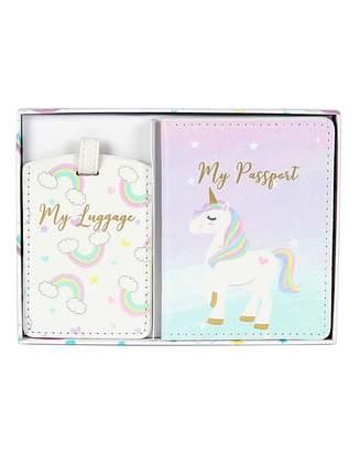 Marisota Unicorn Magic Passport Luggage Gift Set