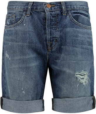 J Brand Dani Distressed Denim Shorts