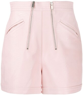 Stella McCartney High Waisted Zipped Shorts