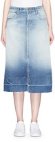 Current/Elliott 'The Slit Midi' denim skirt
