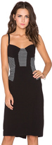Milly Mesh Bustier Dress