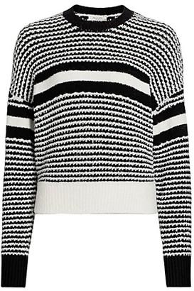 Rag & Bone Teddy Striped Crewneck Sweater