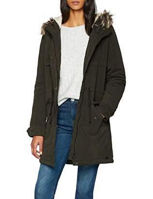 Only Women's Onlstarlight Long Fur Parka Cc Otw Parka Long Sleeve Parka,10 (Manufacturer size: Small)