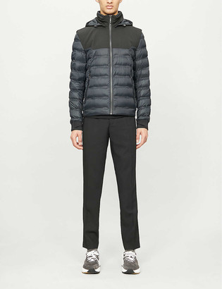 HUGO BOSS Stretch-crepe down jacket