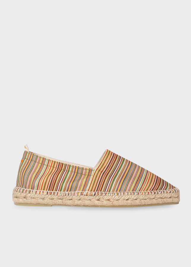 Paul Smith Castaner X Signature Stripe 'Pablo' Espadrilles