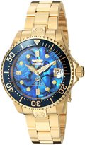 Invicta Women's 'Pro Diver' Automatic and Stainless Steel Diving Watch, Color:Gold-Toned (Model: 23987)