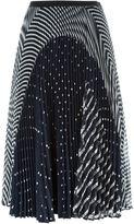 Antonio Marras printed pleated skirt