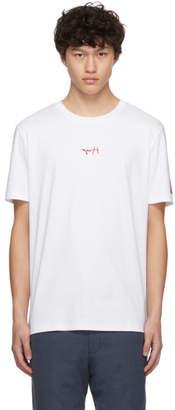 HUGO White Logo Durned T-Shirt