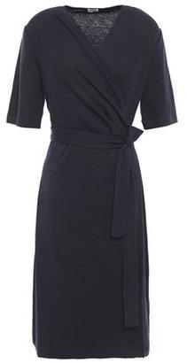 Filippa K Slub Stretch Wool-jersey Wrap Dress