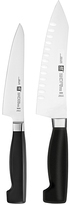 Zwilling J.A. Henckels Four Star Rock & Chop Two-Piece Knife Set