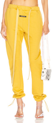 Fear Of God Core Sweatpant in Garden Glove Yellow | FWRD