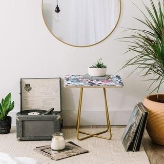 Deny Designs Vintage Floral Side Table