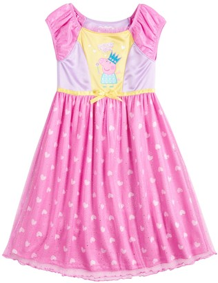 Peppa Pig Toddler Girl Fantasy Nightgown