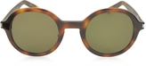 Saint Laurent SL 161 Slim Acetate Round-Frame Unisex Sunglasses
