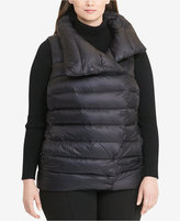 Lauren Ralph Lauren Plus Size Funnel Neck Down Vest