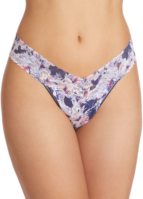 Hanky Panky Floral Breeze Original-Rise Signature Lace Thong