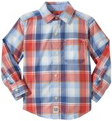 Carter's Preppy Plaid Shirt (Toddler/Kid) - Red-2T