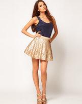 Sequin Prom Skater Skirt