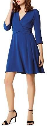Karen Millen Twist Detail Crêpe Dress