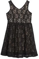 Soprano Girl's Lace Skater Dress