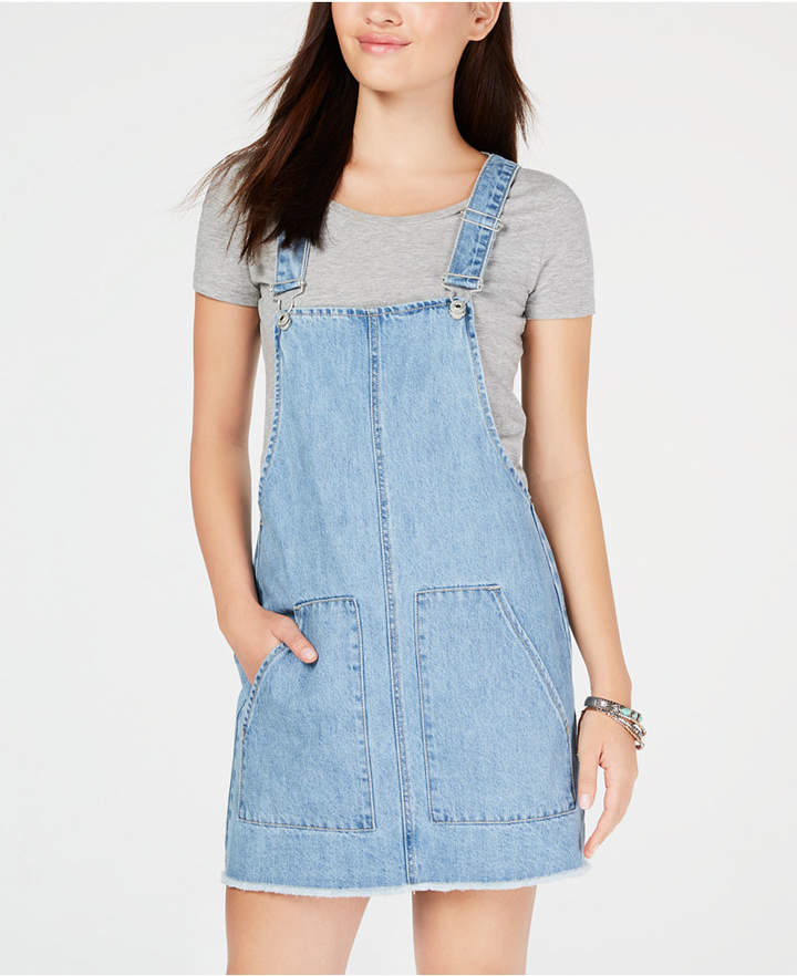Vanilla Star Juniors' Cotton Denim Skirtall
