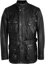 Belstaff Panther black leather jacket