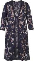 Chesca Ombre Cornelli Embroidered Lace Coat