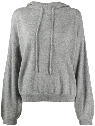 LOULOU STUDIO Knitted Cashmere Hoodie