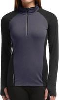 Icebreaker Comet Zip Neck Shirt - UPF 40+, Merino Wool, Long Sleeve (For Women)