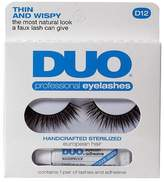 Duo Professional Eyelash Pair and Adhesive D12, (Pack of 2) by