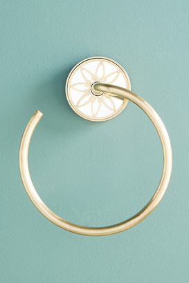 Anthropologie Jardin Towel Ring By in Brown Size ALL