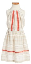 Tucker + Tate Girl's Embroidered Woven Dress