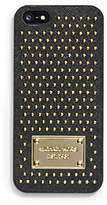 Michael Kors Micro-Stud Saffiano Phone Case For Iphone 5