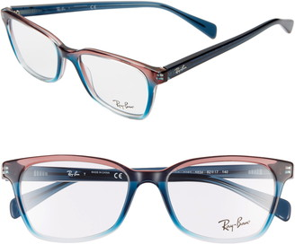 Ray-Ban 52mm Square Optical Glasses
