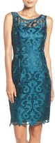 Adrianna Papell Guipure Lace Sheath Dress (Regular & Petite)