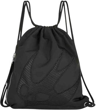 McQ Black Polyester Bags