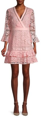 Ted Baker Floral Lace-Design Tunic Dress