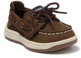 Sperry Convoy Jr. Moc Toe Slip On Boat Shoe (Toddler)