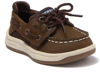 Sperry Convoy Jr. Leather Boat Shoe (Toddler)