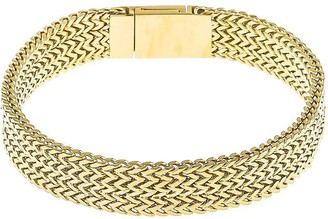Victoria Emerson Gold Chain Bracelet with Magnetic Clasp