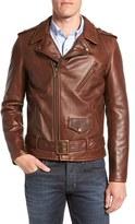 Schott NYC Men's Perfecto Waxy Leather Moto Jacket