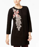 Alfani Embellished Sweater Coat, Created for Macy's