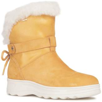 Geox Amphibiox Hosmos Faux Fur-Lined Boots