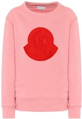 Moncler Logo cotton-blend sweatshirt