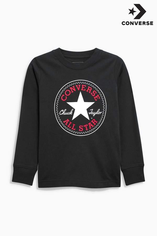 Next Boys Converse Chuck Long Sleeved T-Shirt