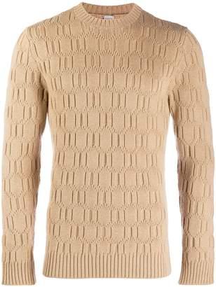 Eleventy textured knit jumper