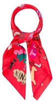 Hermes Les Confessions Silk Scarf