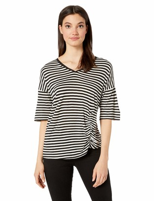 Kenneth Cole Women's Side Ruched TEE