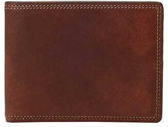 Bosca Dolce Collection - Executive I.D. Wallet (Amber) Wallet Handbags