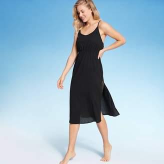 SUNN LAB SWIM Women's Cinch Waist Cover Up Dress